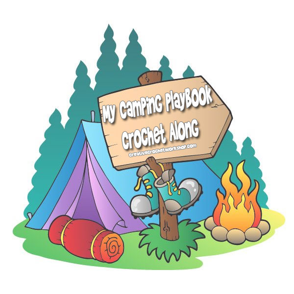 My Crochet Camping Playbook Introduction | Free Crochet Pattern | Creative Crochet Workshop @creativecrochetworkshop #ccwcampingplaybookcrochetalong