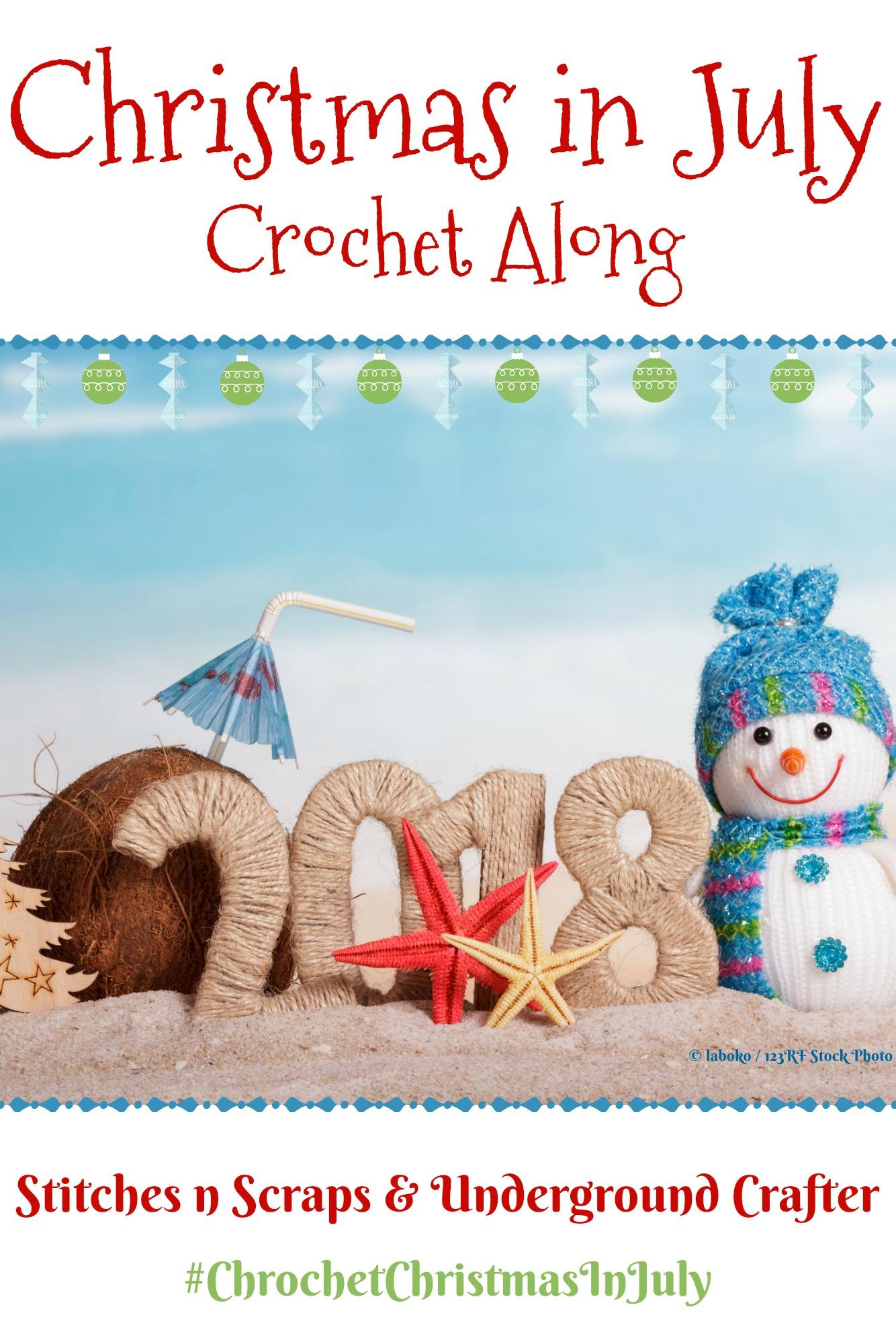 #CrochetChristmasInJuly